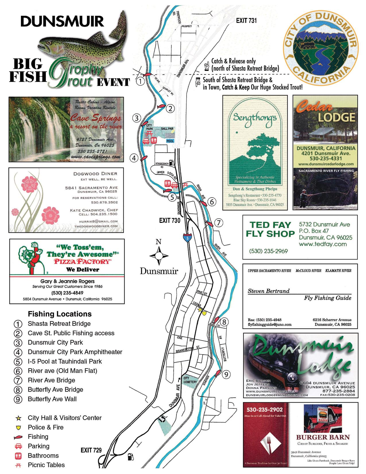 Dunsmuir trophy trout program big fish dunsmuir for Fish stocking ca