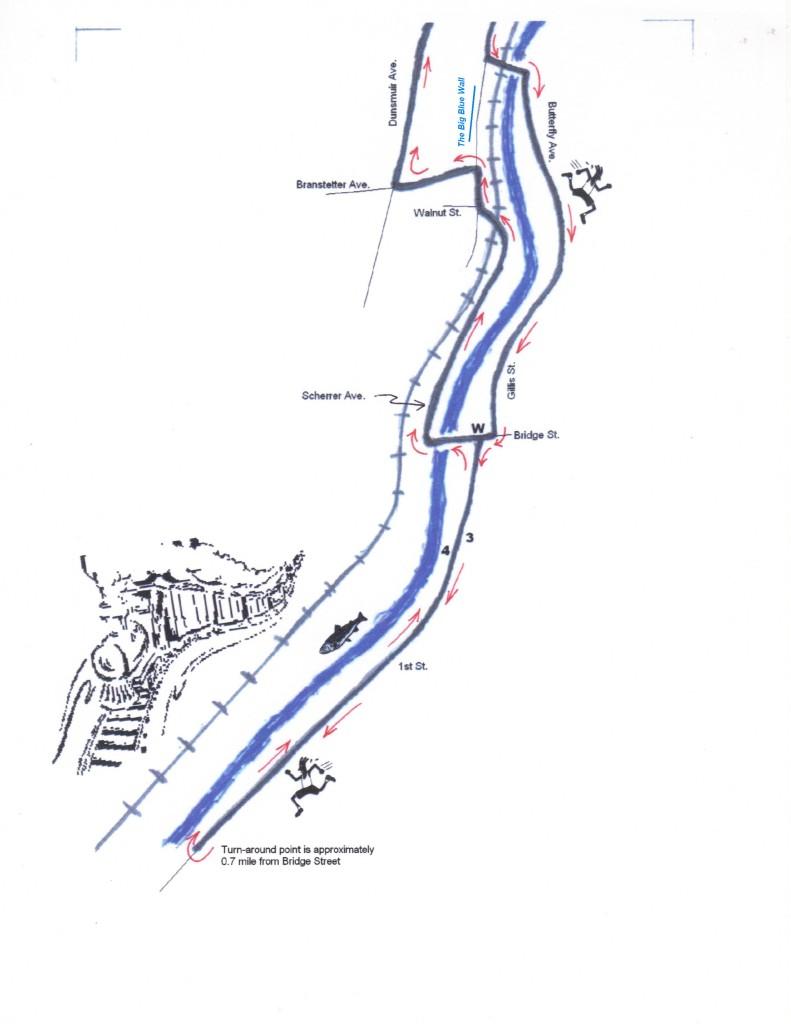River Run south