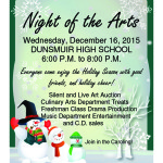 Dec. 16 – Night of the Arts