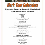 Upcoming Events at Dunsmuir High School