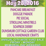 May 28 – Dogwood Daze