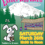 March 26 – Easter Egg Hunt