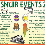 Dunsmuir Events 2016