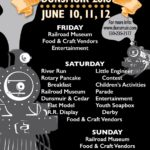 June 10, 11, 12 – Dunsmuir Railroad Days