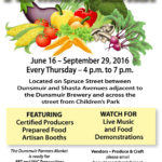 June 16 – Dunsmuir Farmers Market Opens