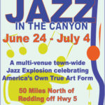 June 24 – July 4th : Jazz in the Canyon