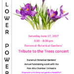 2017 Tribute to the Trees Concert