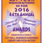 Accepting Nominations for the 2016 Citizen of the Year Awards
