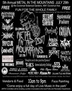 The 5th Annual Metal in the Mountains