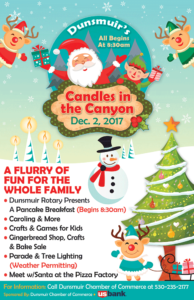Dunsmuir's 2017 Candles in the Canyon